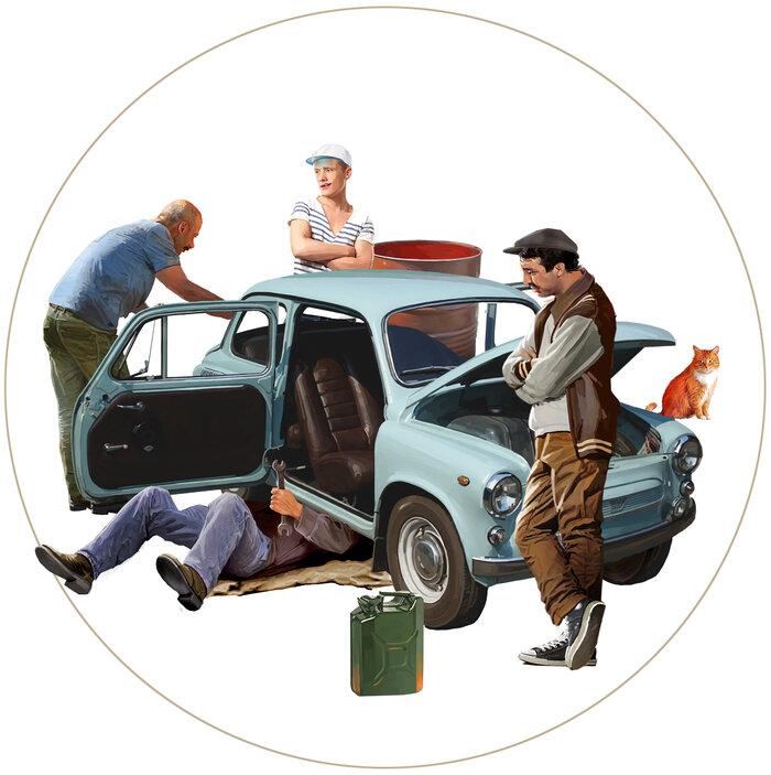 Радостные иллюстрации художника, скучающего по советским временам