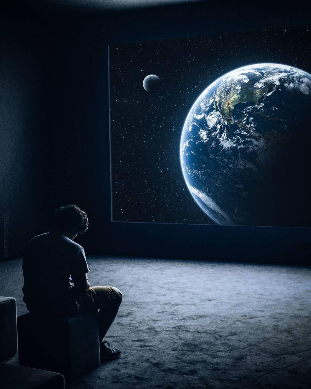 Индийский художник Кевин Адамс создает захватывающие цифровые произведения искусства