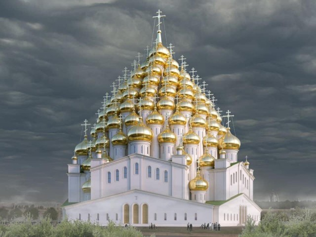 В Санкт-Петербурге построят 320-купольную церковь