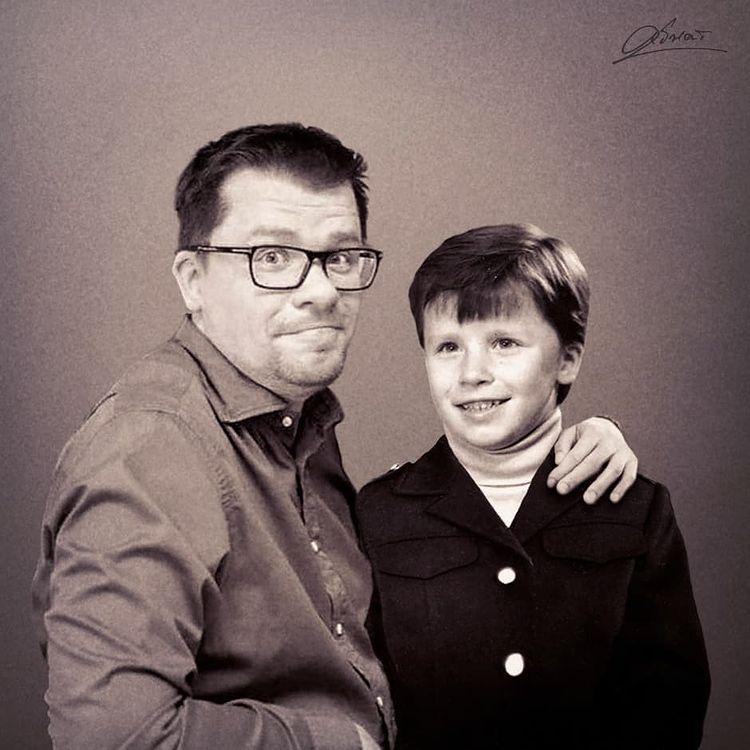 Объединяя старые и новые фото: знаменитости молодые и сейчас