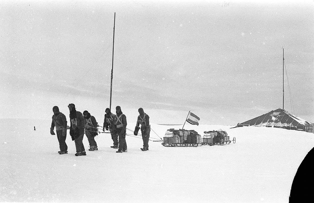 Фотографии из экспедиции 1911 года в Антарктиду