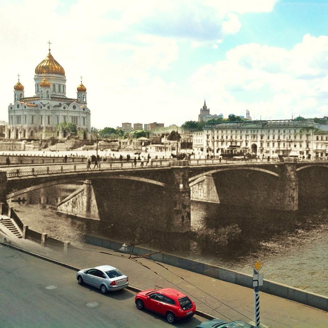 Две Москвы в одном образе