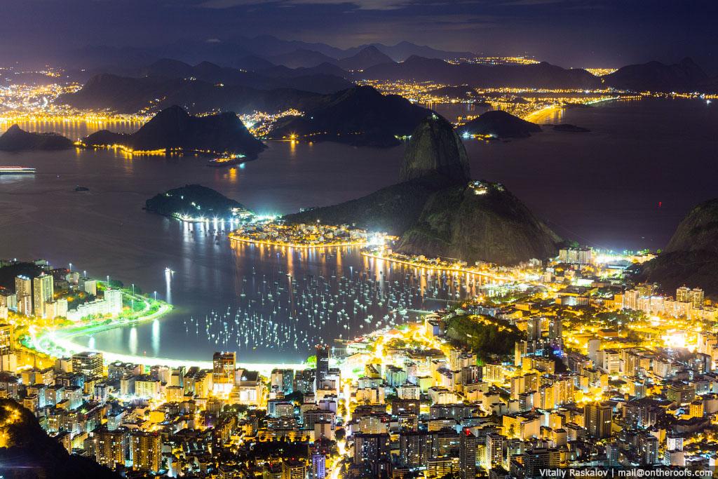 Посещение статуи Христа Искупителя в Рио-де-Жанейро