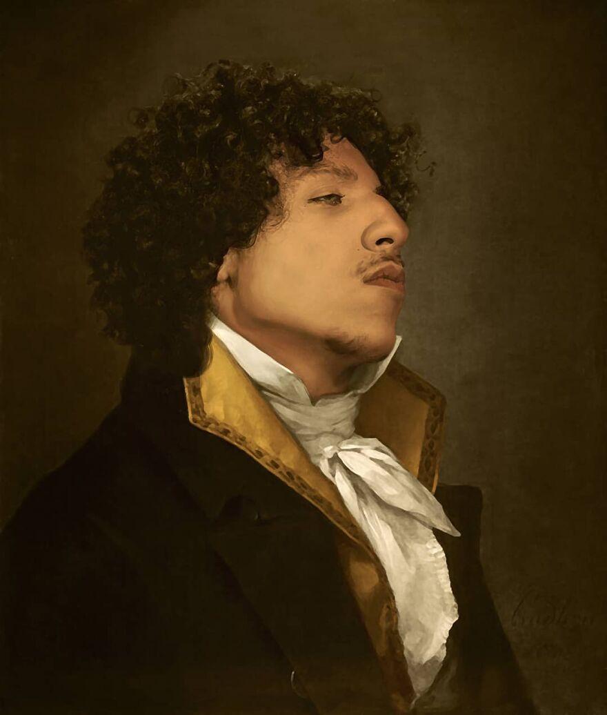 Художник из Франции создаёт классические картины, добавляя в них знаменитостей