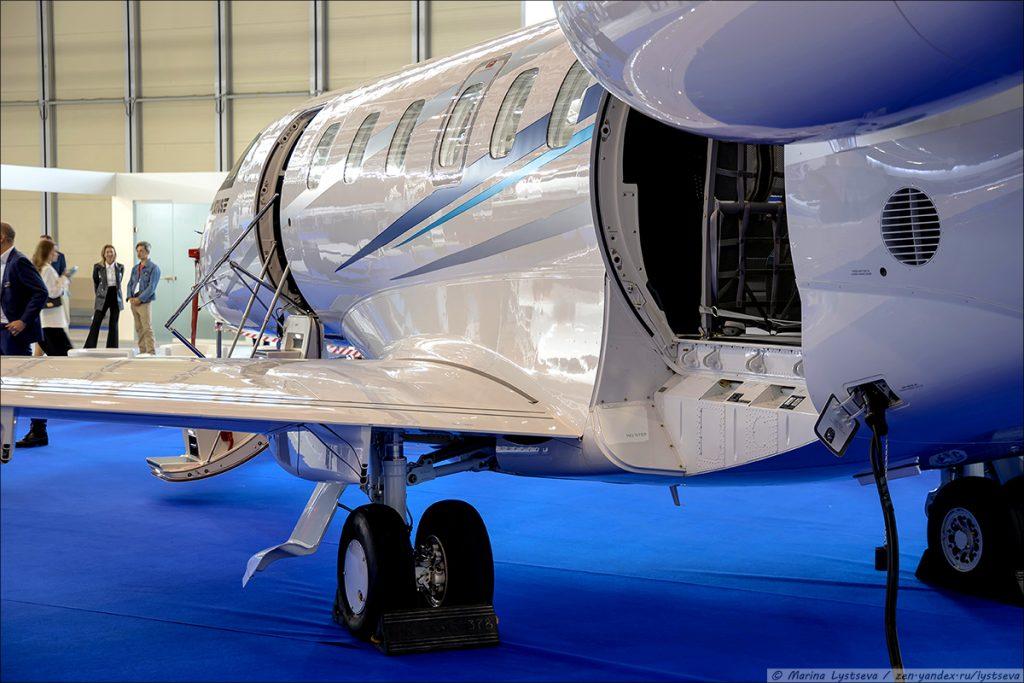 Выставка RUBAE-2021 представила самолет Pilatus PC-24