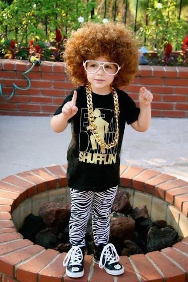 Удивительные костюмы детей на Хеллоуин