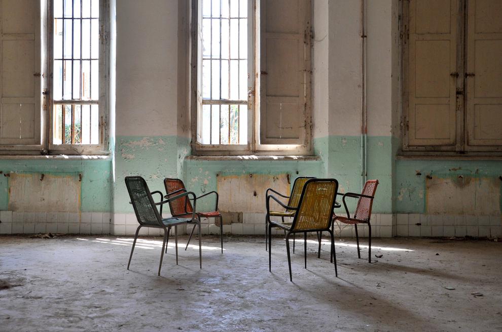 Заброшенная психиатрическая больница в Италии