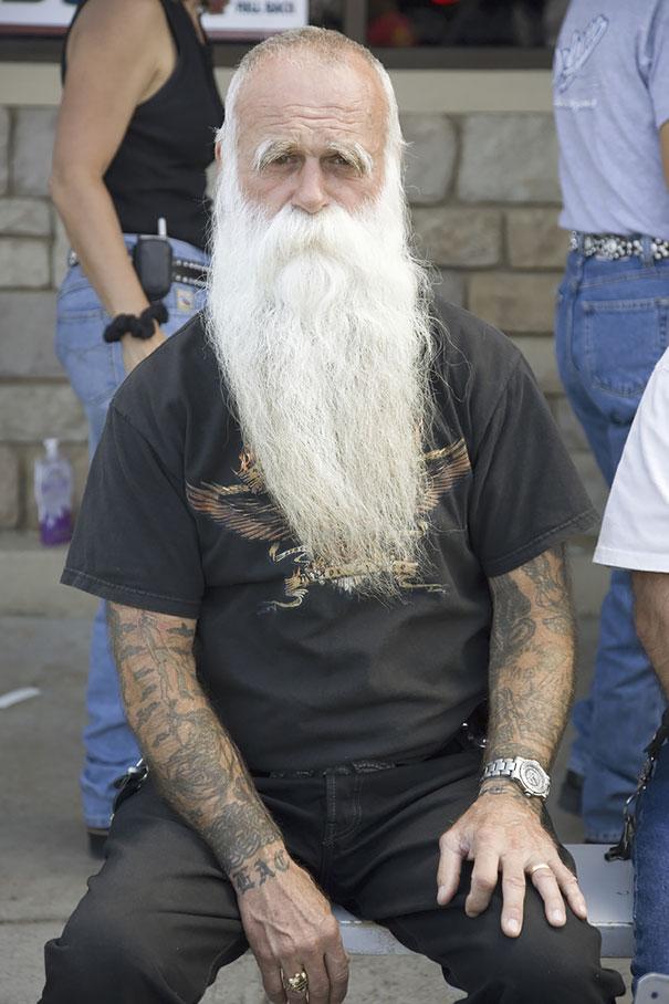 Татуированные пенсионеры за 60...
