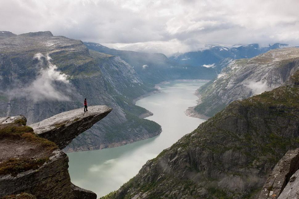 Самые страшные места в мире, смотря оттуда вниз