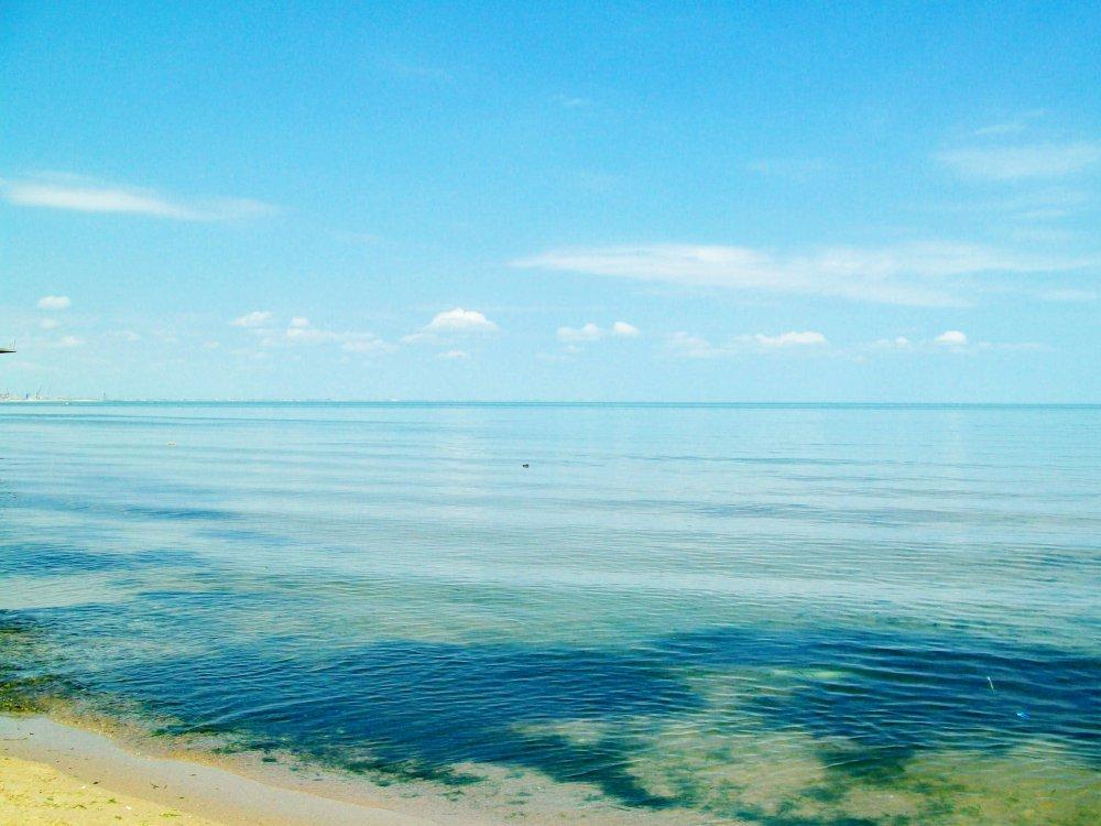 а также из-за того, что его ложе сложено земной корой океанического типа. Вода в Каспии солёная, — от 0,05 ‰ близ устья Волги до 11—13 ‰ на юго-востоке.