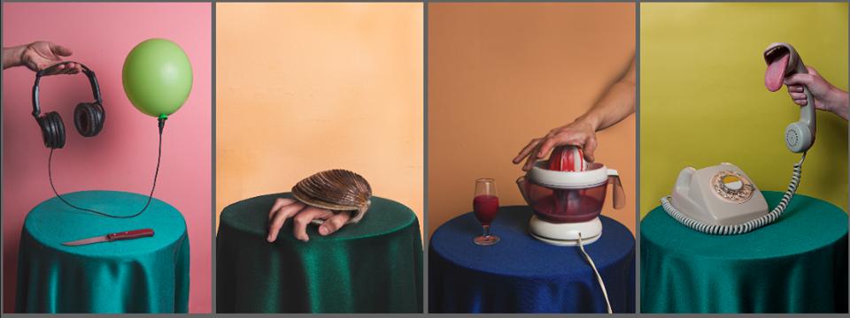 ИспольÐование сюрреалистических фотографии, чтобы выраÐить свои абсурдные идеи