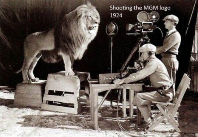 Съемки фильма студии MGM