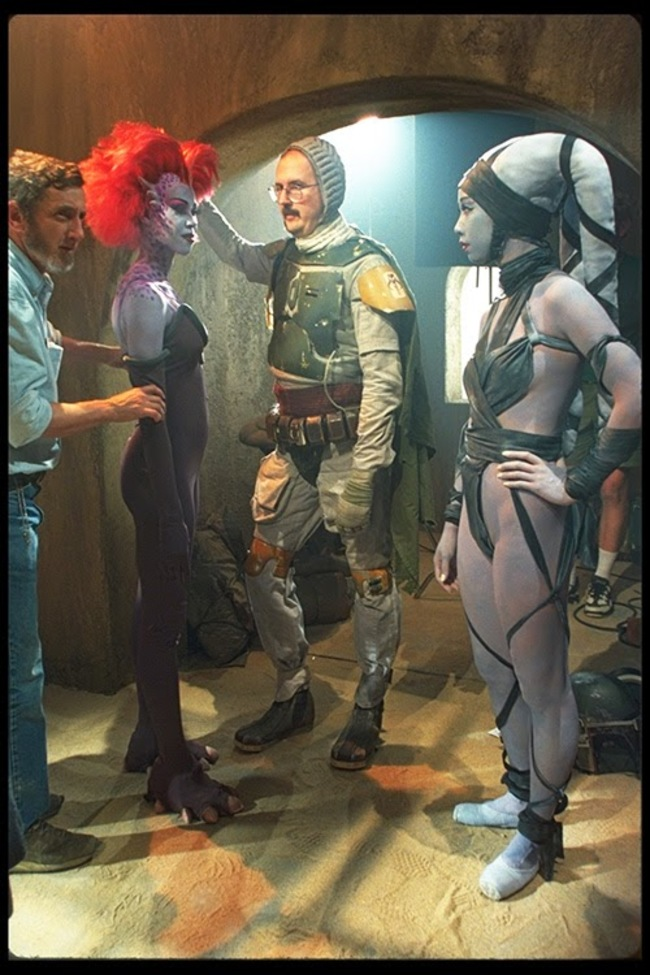 """Боба Фетт разоблачен, снимали сцены для """"Звездных Войн"""" специальные выпуски."""