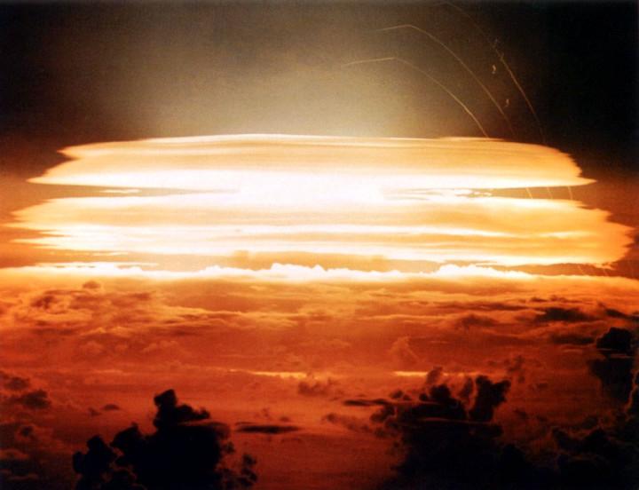 Невероятные фотографии ядерных взрывов
