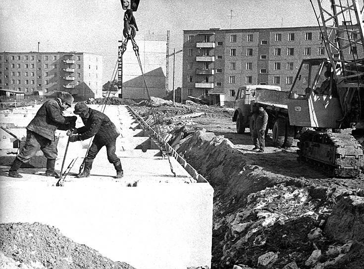 Город был основан как место жительства для работников строящейся на расстоянии 3 км АЭС