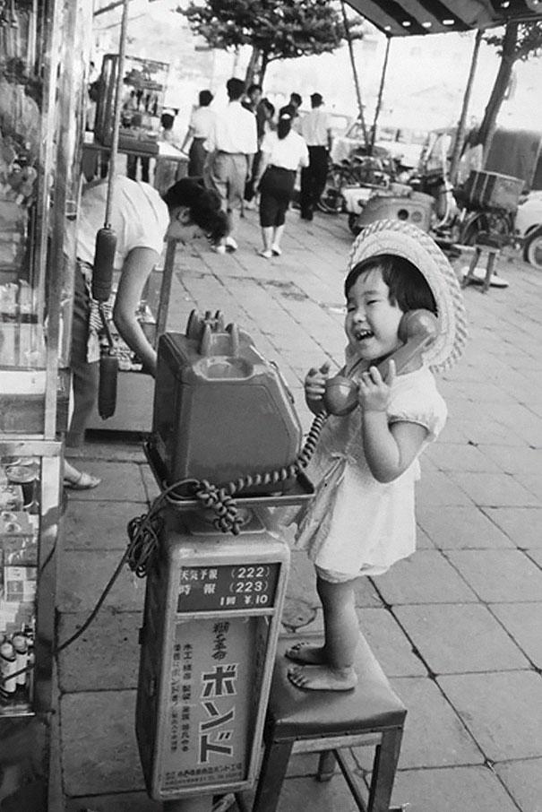 Девчушка из Японии, 1958 г.