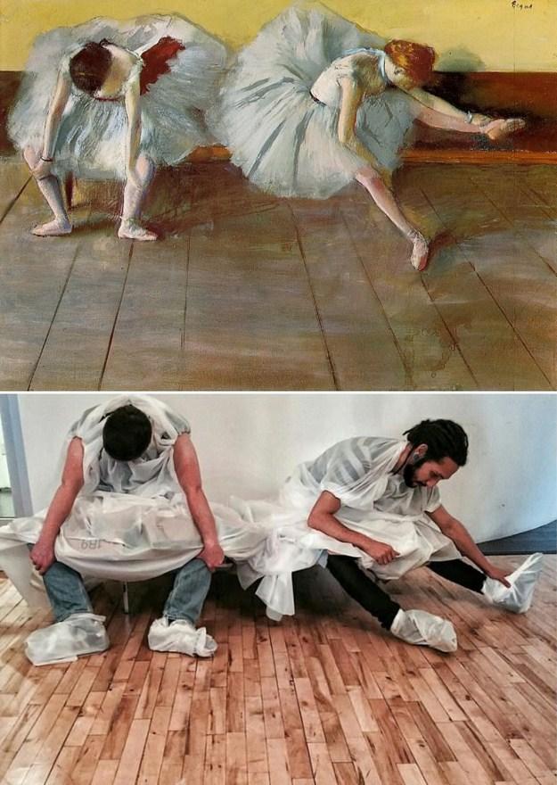 """""""Две балерины"""" Эдгара Дега, 1879 г."""