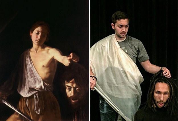 """""""Давид с головой Голиафа"""" Караваджо, 1610 г."""