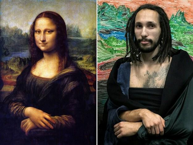 """Мона Лиза"" Леонардо да Винчи, 1503-1517 г."