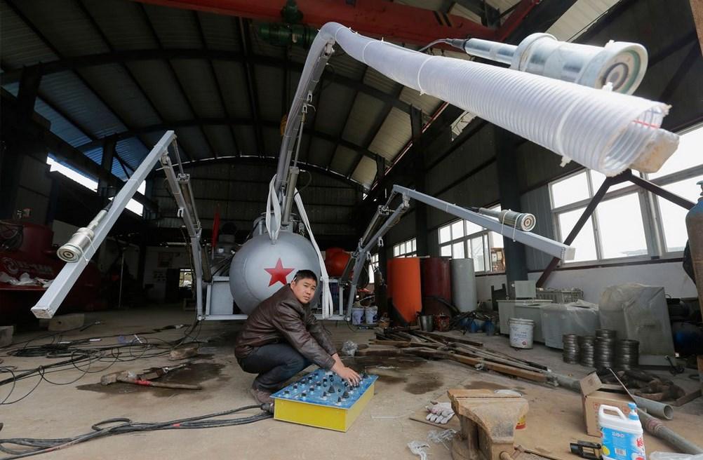 Подводная лодка для разведения морских огурцов
