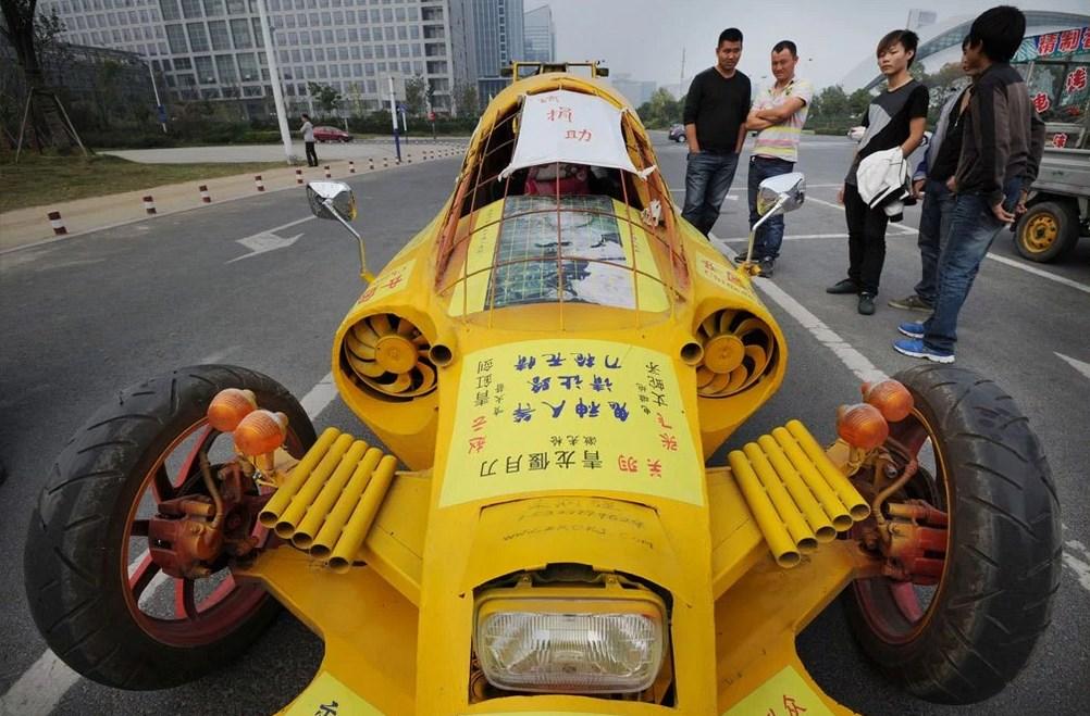 Креативный автомобиль.