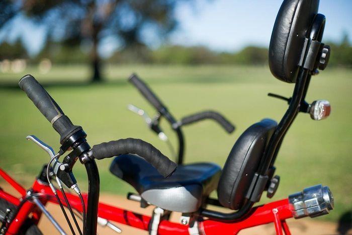 Самый удобный велосипед, конец усталости