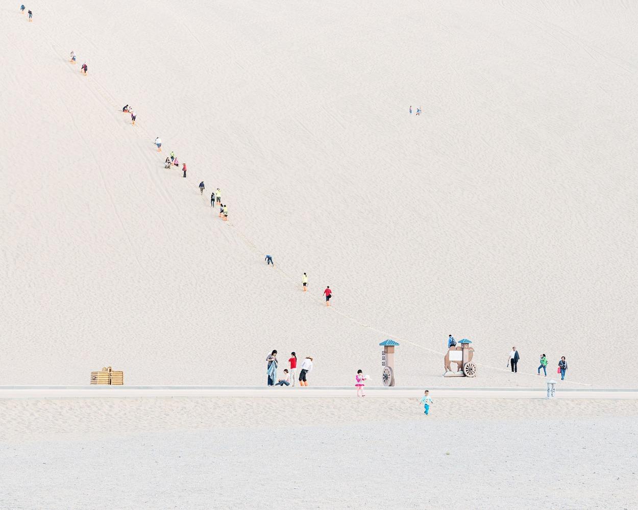Неземные фотографии пустыни Gobi