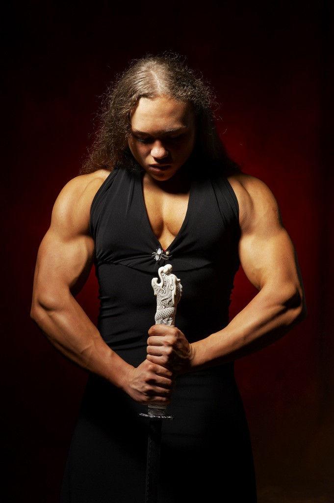 Одна из самых мускулистых женщин в мире