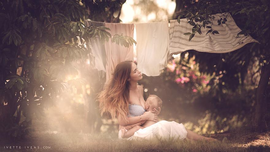 Красивые снимки кормящих мам