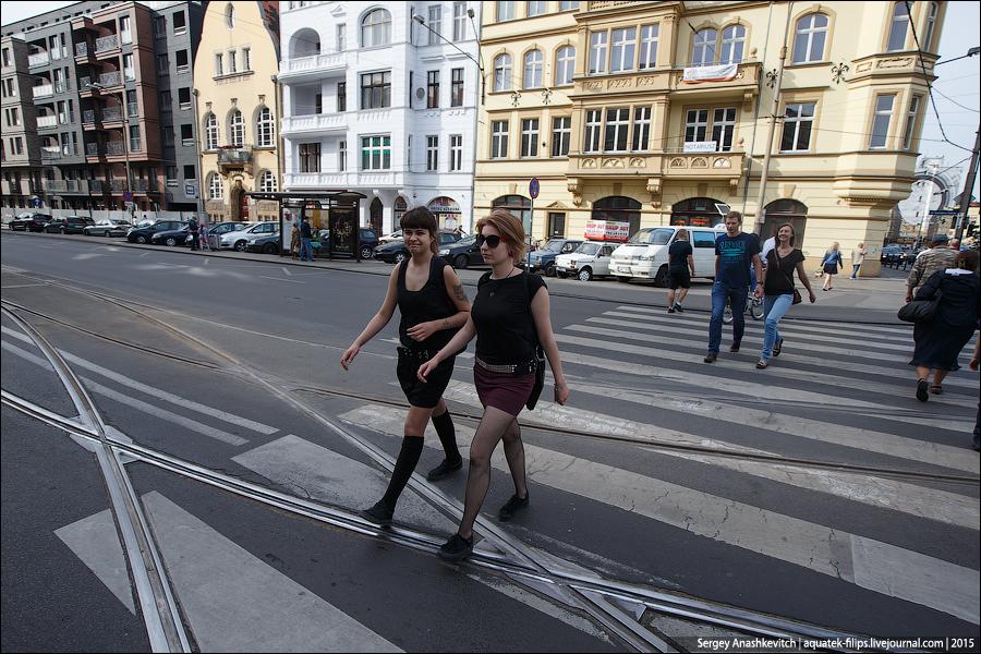Вроцлав, Польша. Июнь 2015.