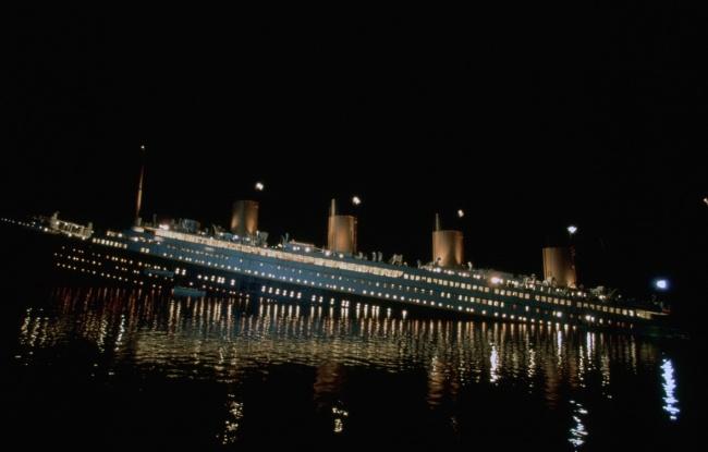 Для съемок «Титаника» построили новую огромную студию