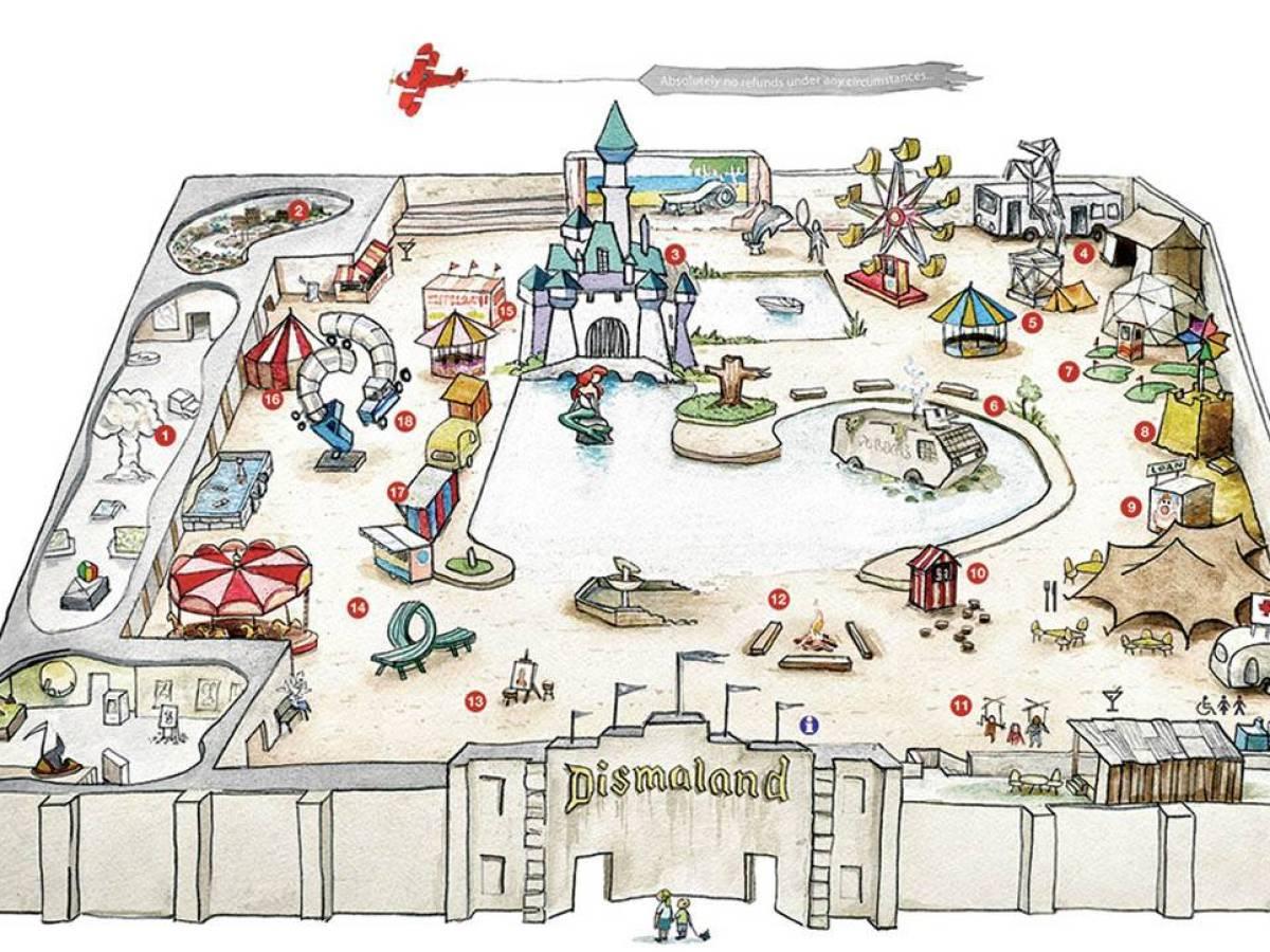 Карта Дисмаленда.