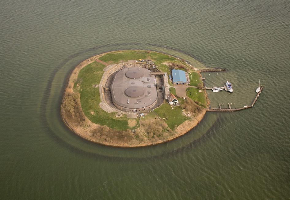Форт Пампус (Pampus), Нидерланды