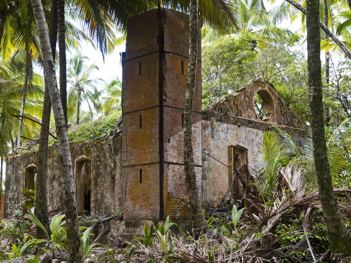 Худшая из тюрем была известна как Остров дьявола.