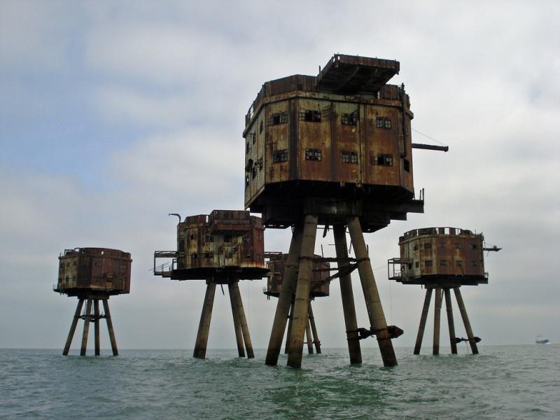 Морские форты Манселла, Великобритания