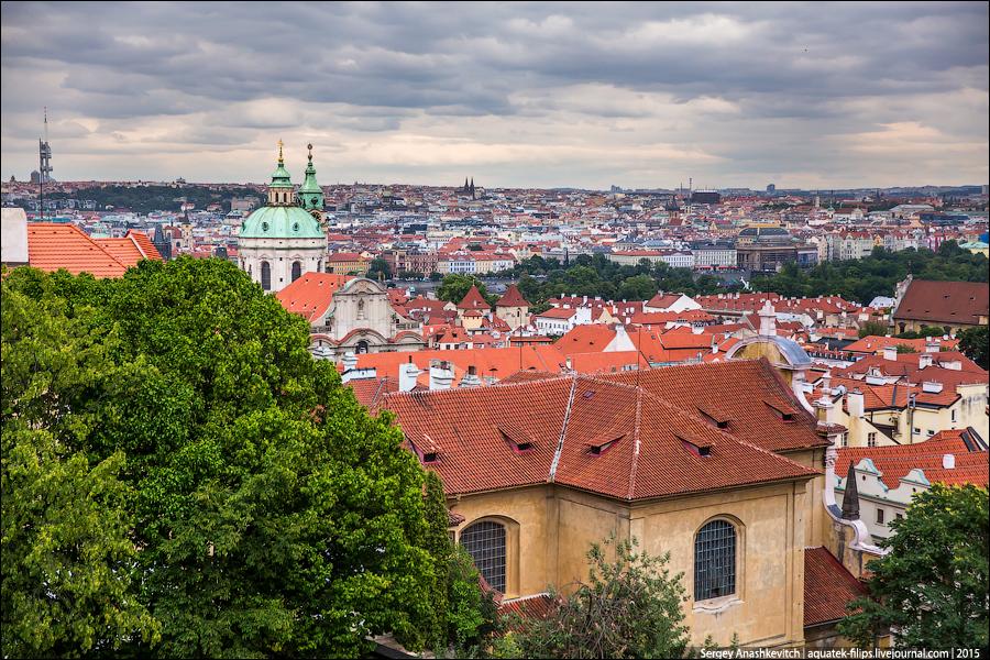Прага, июль 2015