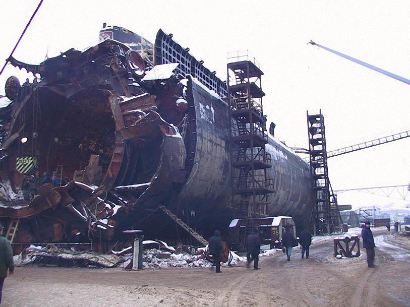 Атомная подводная лодка К-141 «Курск»