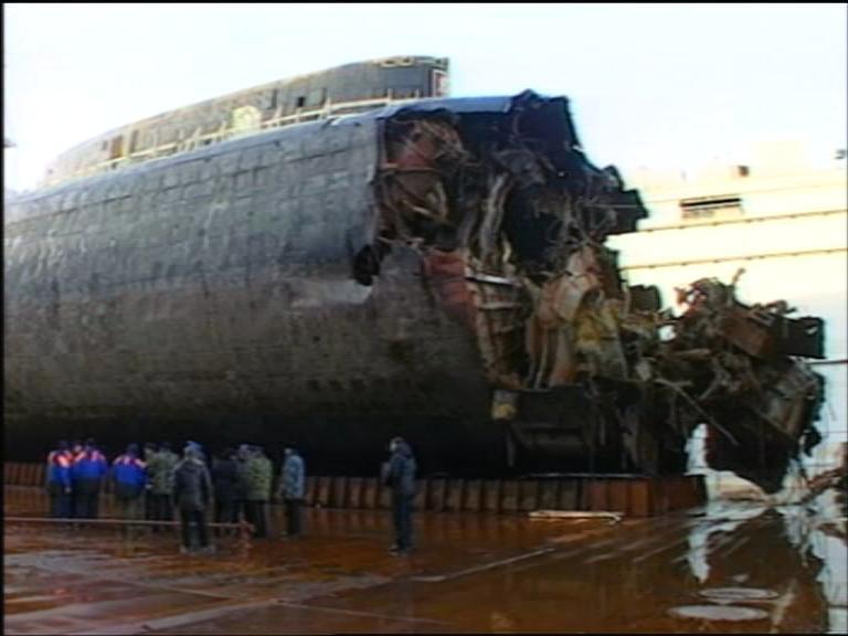 шквал в подводной лодке курск
