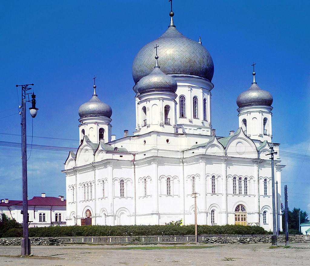 Редкие цветные фотографии Российской империи