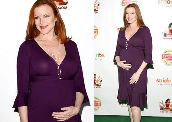 Марсия кросс беремен