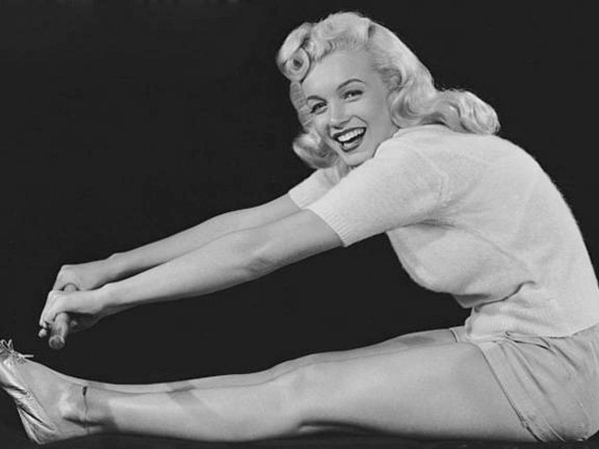 Мэрилин Монро: яйца и упражнения для поддержания формы
