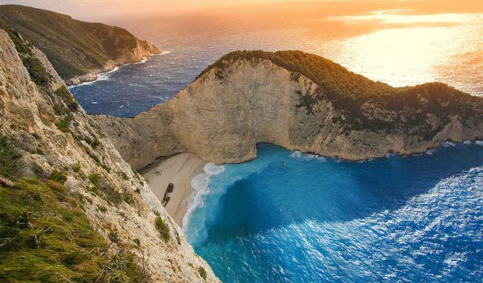 Пляж Навагио - Закинф, Греция