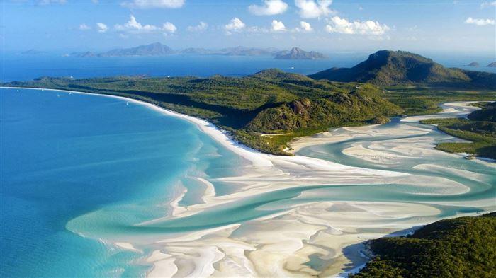 Пляж Уайтхэвен - Остров Уитсанди, Австралия