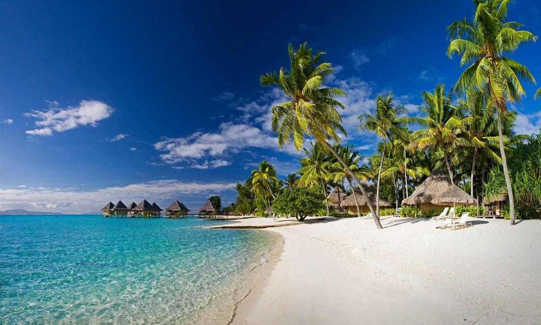 Пляж Матира - Острова Бора-Бора, Французская Полинезия