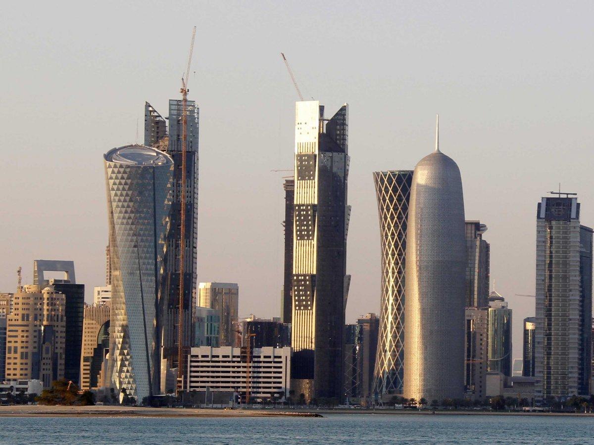 Доха, столица Катара, на Ближнем Востоке является вторым по значимости финансовым центром