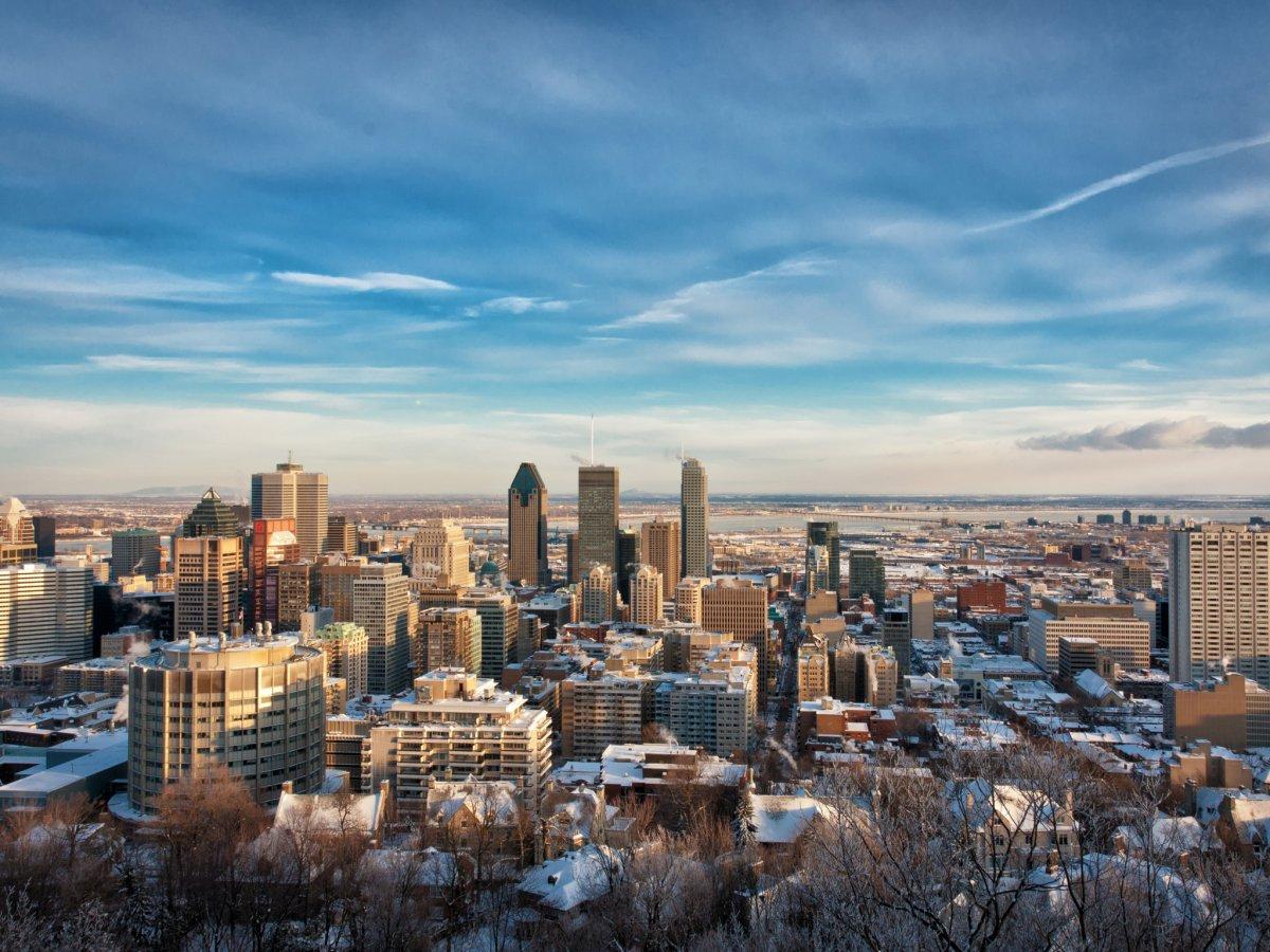 Монреаль пробирается в ТОП-20, что дает ему право быть третьим по величине в финансового центром Канаде