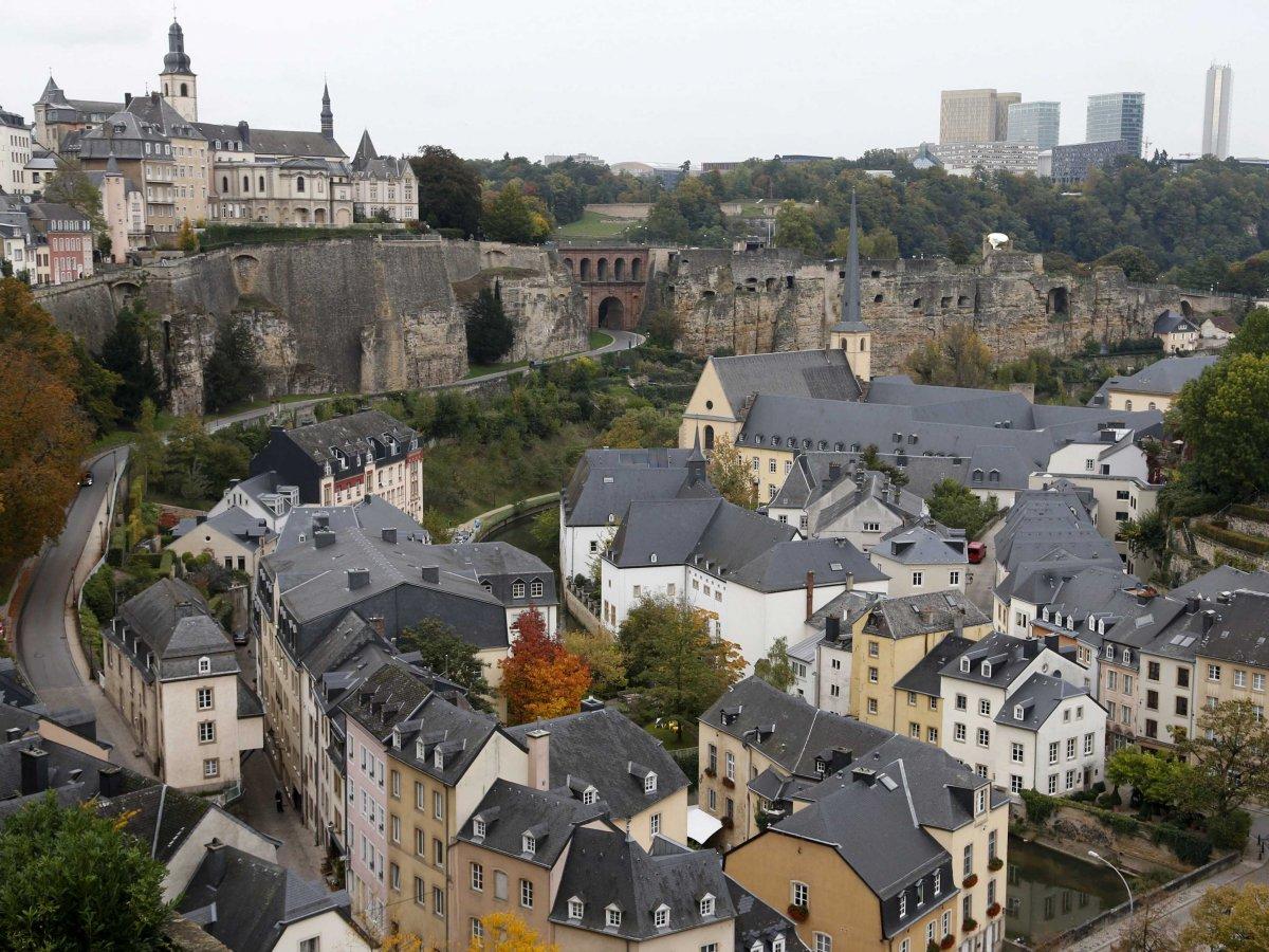Люксембург крошечный город-государство занимает четвертое место в Европе с высоким рейтингом.