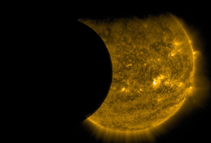 Двойное затмение, 13 сентября 2015.