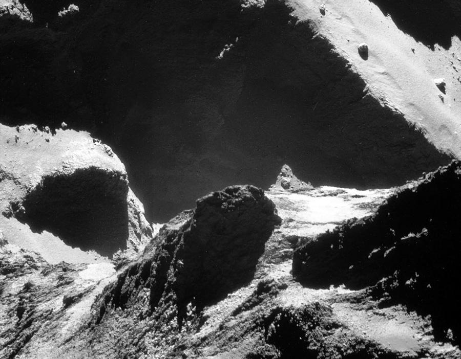 Покадровая съемка кометы 67p/Чурюмова-Герасименко