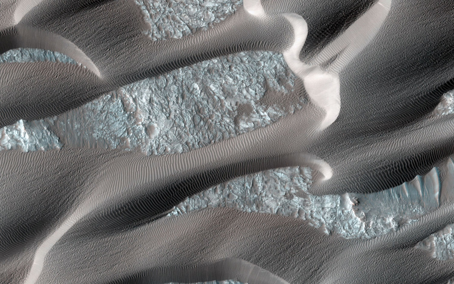Нили Патера, Марс